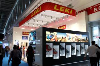 「ISPO ミュンヘン 2016」会場レポート LEKI(レキ)[展示品:トレッキング ポール]