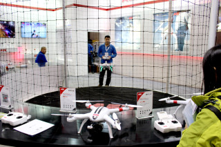 「ISPO 北京 2016」会場レポート ドローン(DRONE)飛行実演