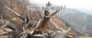 【沢登り&原始山行】比良・口ノ深谷 2016年5月28日(土)