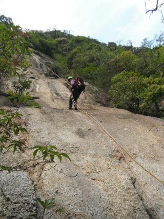 【登山レポート】鬼ヶ牙へクライミング「Alpine training program」 2016年5月24日
