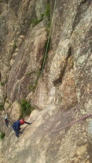 【登山レポート】兵庫県 蓬莱峡「Alpine training program」2016年6月12日