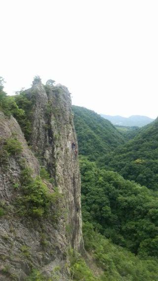 【登山レポート】兵庫県 百丈岩「Alpine training program」 2016年6月15日