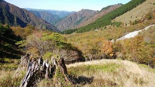 【登山レポート】奈良県 大峰・七面山 2016年11月