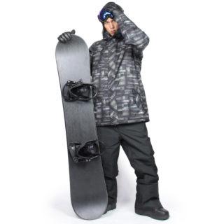 VAXPOT スノーボードウェア メンズ【おすすめコーディネート】ウェアにもワントーンコーデを