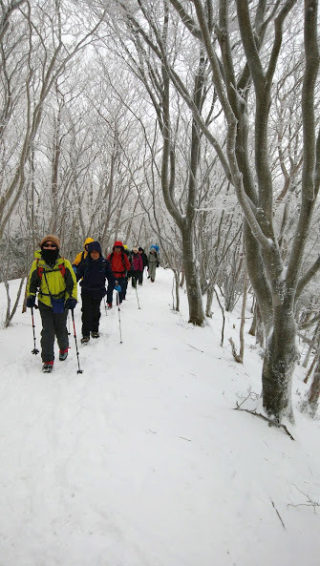 【登山レポート】三峰山 樹氷トレッキング 2017年1月15日
